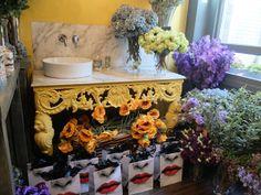 Spring flowers at the Fornasetti 'Giardino Segreto' launch