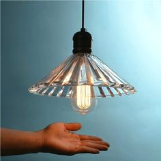 Pendant Light Glass Crystal Umbrella Restaurant Pendant Light Single Pendant Light Vintage Retractable Wall Lamp American Style #Affiliate