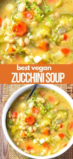 Healthy Soup Vegetarian, Vegan Soups, Vegetarian Recipes, Healthy Recipes, Easy Vegan Soup, Paleo, Lunch Recipes, Easy Dinner Recipes, Soup Recipes