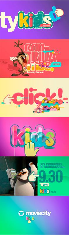 Moviecity kids. Generation and animation brand: Diego Troiano. Portfolio Diego Troiano. Work in FOX LATIN AMERICAN CHANNELS moviecityplay.com/kids/