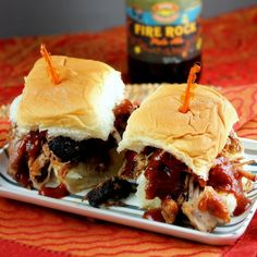 Crock Pot Pulled Pork - Delicious barbecue right in your crock pot! Baked Breakfast Recipes, Slow Cooker Breakfast, Breakfast Bake, Slow Cooker Pork, Slow Cooker Recipes, Crockpot Recipes, Cooking Recipes, Cookbook Recipes, Pulled Pork Sliders