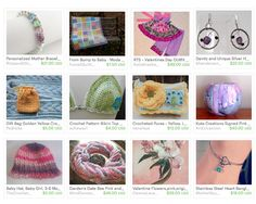 A Revolving Showcase of Etsy Hand Crafted Goods