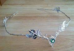 Celtic Wedding Circlet Bridal Circlet Headpiece Celtic by Camias Wedding Accessories, Wedding Jewelry, Jewelry Accessories, Celtic Trinity Knot, Celtic Wedding Rings, Irish Wedding, Blue Wedding, Circlet, Tiaras And Crowns