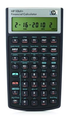 HP 10Bii+ Financial Calculator  Priced at $30.00 #Calculator #Finances #Office #Students #Professionals #LuisOrtega32