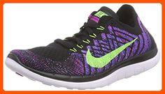 best cheap 572fa 53e73 Nike Free 4.0 Flyknit Women s Running Shoes, 7, BLACK FLASH LIME-FUCHSIA  FLASH-FUCHSIA GLOW - All about women ( Amazon Partner-Link)