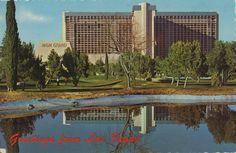 Old Las Vegas postcard. Hagins collection.