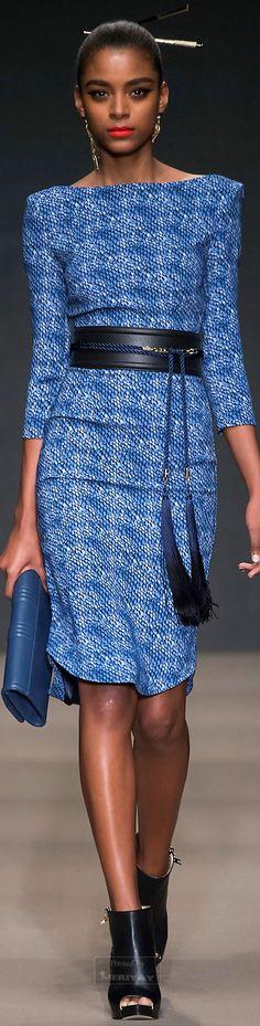 Farb-und Stilberatung mit www.farben-reich.com - Elisabetta Franchi.Fall 2015.