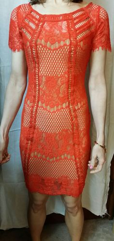 Restyled lace dress