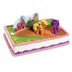 My Little Pony Pubix Cake Birthday Party