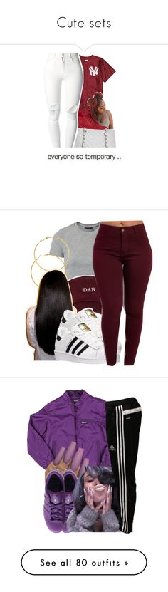"""""""Cute sets"""" by kaykay47 on Polyvore featuring Timberland, Chanel, (+) PEOPLE, Melissa Odabash, adidas, Members Only, Davines, Proenza Schouler, Puma and A BATHING APE"""