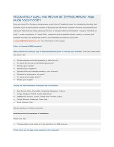 Relocating a small and medium enterprise abroad Offshore Bank, Swiss Bank, International Bank, Tax Haven, Tax Payment, How To Be Outgoing, Online Business, Medium