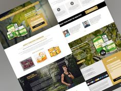 Product Landing Page Template #product