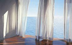 I just found alice-dalton-brown and I LOVE her works. blues-come-through-by-alice-dalton-brown Spring Landscape, Beach Landscape, Decoration, Art Decor, Boston Interiors, Winter Scenery, Home Decor Store, Framed Art Prints, Alice