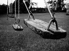 Old wood swings ~ Swung   by Al Mullen