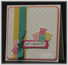 Silly Little Aviary Card by stampercamper - Cards and Paper Crafts at Splitcoaststampers