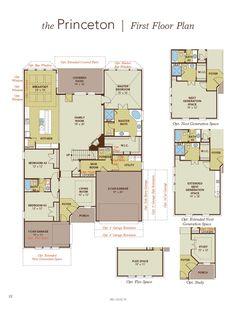 Princeton First Floor Plan
