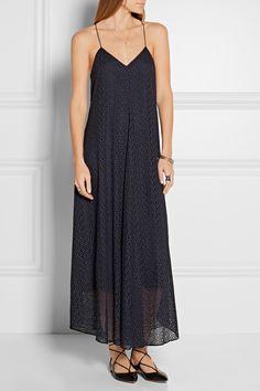 Tibi | Broderie anglaise cotton midi dress | NET-A-PORTER.COM
