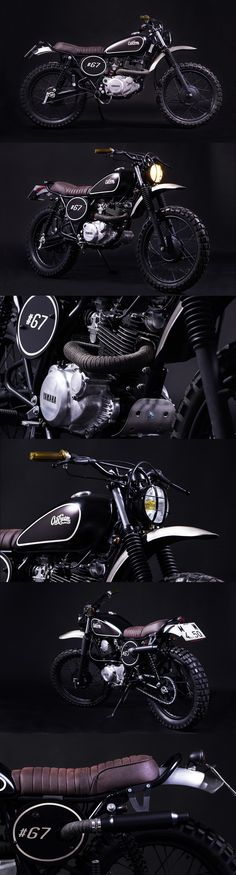Yamaha SR250 CRD #67 by Cafe Racer Dreams
