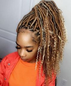 Looking for a new hairstyle? Then consider goddess faux locs. We love goddess faux locs Box Braids Hairstyles, Cool Hairstyles, Short Hairstyle, Black Hairstyles, Straight Hairstyles, Wedding Hairstyles, Curly Hair Care, Curly Hair Styles, Natural Hair Styles