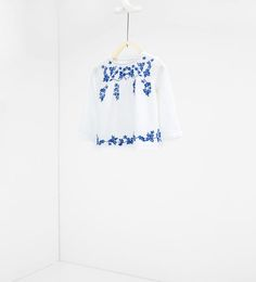Image 1 of Embroidered shirt from Zara