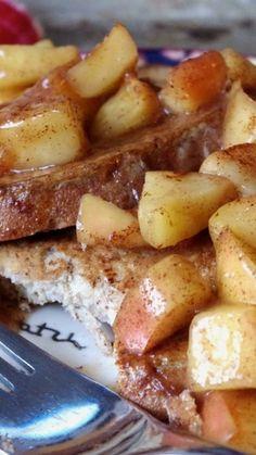Revamped Cinnamon Apple Eggy Bread