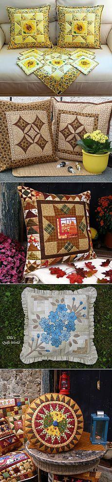 Patchwork cushion (Ideas and Inspiration) | Varvarushka-Needlewoman