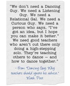 "From The Archives: ""Dancing Guy: Why teachers should ignore his advice"""