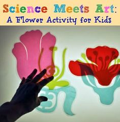 This sophisticated flower craft is translated into an at-home activity you can do with your kids.