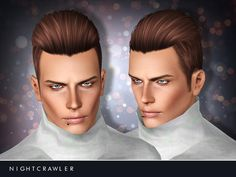 Teen to Elder  Found in TSR Category 'Male Sims 3 Hairstyles'