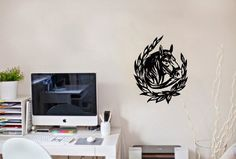 Wall Vinyl Sticker Decal Art Design Horse Head Animal and Horseshoe Room Nice Picture Decor Hall Wall Chu688 Thumbs up decals http://www.amazon.com/dp/B00J9SFTFA/ref=cm_sw_r_pi_dp_Sgq2tb0J4Z38N5BH