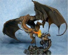 Berserker Clan Dragon vs Human Attacker