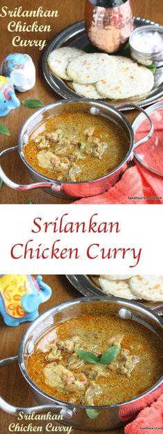 Srilankan Chicken Curry | Chicken Curry | Chicken Gravy
