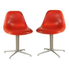 "Chairs by Charles Eams for Herman Miller.  Model: ""La Fonda"""