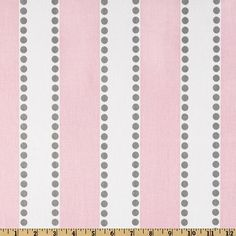 Great back drop or wrapping fabric, more circus feel. Lulu Stripe in Bella Pink  Premier Prints Home by Stitchinfabric, $10.50