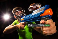 BallistixOps Powerball blaster by Dart Zone is ready to rock! Find at your local Target! Visit http://dartzoneblasters.com