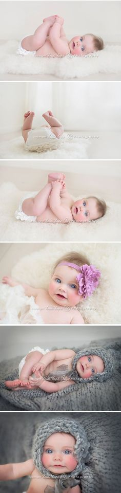 boston baby photographer 6 month portraits by heidi hope photography. baby portrait. #baby