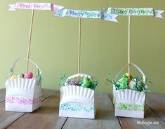 washi tape Easter crafts