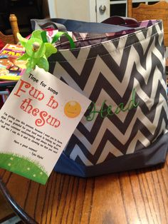 End of year ready for summer teacher gift