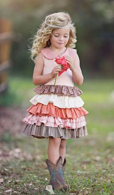 Persnickety Clothing - Apple Blossom Spring 2014 - Macie Jane Dress - Size 6 - My Little Jules Flower Girl Outfits, Little Girl Outfits, Little Girl Fashion, My Little Girl, Toddler Fashion, Kids Outfits, Kids Fashion, Cute Outfits, Flower Girls