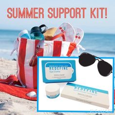 Lose the wrinkles from squinting eyes and cool your skin/sunburn with our cooling gels.