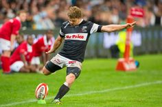 Man of the Match Patrick Lambie kicked five successful penalties to add 15 points to the Sharks 20 - 3 victory. Rugby Sport, Man Of The Match, Real Men, Sharks, Victorious, Kicks, Boyfriend, Success, Lovers