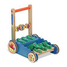 Amazon.com Shopping Cart Toddler Toys, Baby Toys, Kids Toys, Crocodile, Fisher, Push Toys, Wooden Elephant, Developmental Toys, Thing 1