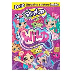 Shop Shopkins: Wild [DVD] at Best Buy. Find low everyday prices and buy online for delivery or in-store pick-up. Shopkins Wild Style, New Shopkins, Shopkins Guide, Shopkins Girls, Colors Tv Drama, English Caption, Famous Movies, Cute Friends, Cool Things To Buy