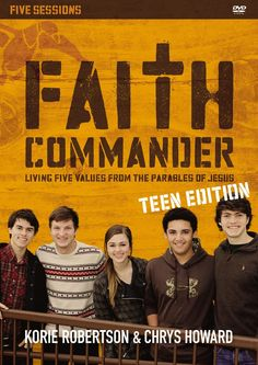 Faith Commander Teen Edition: A DVD Study: Living Five Values from the Parables of Jesus. Learn More on CFDb. http://www.christianfilmdatabase.com/review/faith-commander-duck-dynasty/
