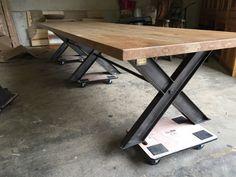immense table en chêne massif cuisine salon salle à manger d'hôte loft de 4 m in Maison, Meubles, Tables, Cuisine, salle à manger | eBay