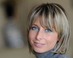 short brown hair with blonde highlights - Google Search