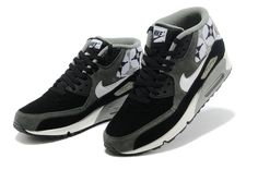 new style 9f7fb b7777 Cheap Cheap Nike Air Max 90 High Cut Online Black Grey for Men Shoes and  Nice Nike 2012 Air Max on Sale