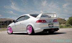 Acura RSX w/Pink Wheels
