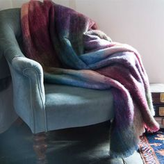 Exquisite mohair throw, light weight, exceptionally warm and in a beautiful colour pallet. The best selling throw around. Mohair Throw, Alpaca Throw, Home Interior Accessories, Sheepskin Rug, Rustic Cottage, Cottage Living, Color Pallets, Warm, Blanket