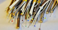 tools for decorating Sorbian eggs
